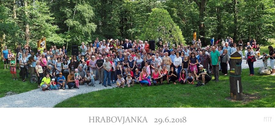 Slavnostní otevření parku Hrabovjanka